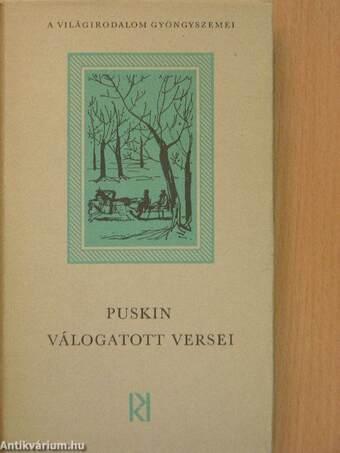 Puskin válogatott versei