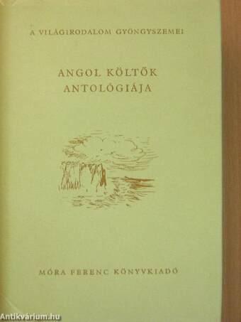 Angol költők antológiája