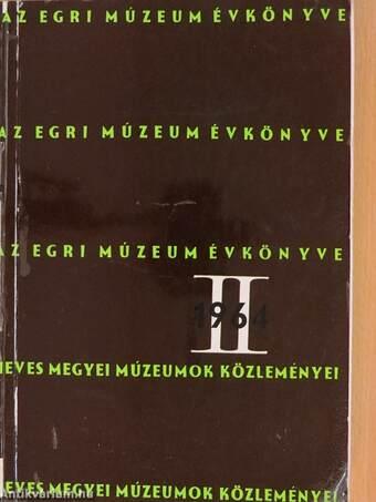 Az Egri Múzeum Évkönyve II.