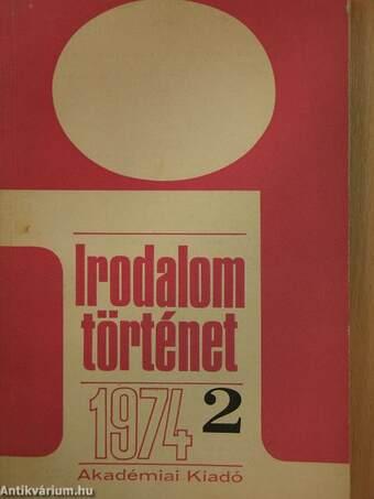 Irodalomtörténet 1974/2.