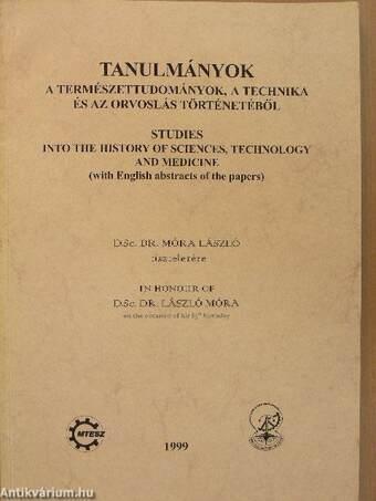 Tanulmányok a természettudományok, a technika és az orvoslás történetéből